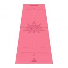 Коврик для йоги ArtYogamatic Lotos Rose 185 см x 68 см x 2 мм