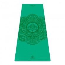 Коврик для йоги ArtYogamatic Mandala Green 185 см x 68 см x 4 мм