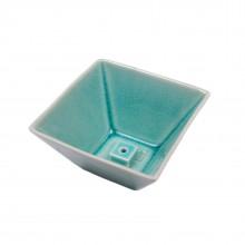 Подставка для благовоний Yukari Bowl Green керамическая 9 см