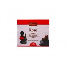 Благовония конусные стелющиеся Роза (Rose) Aromatika 10 шт/уп.