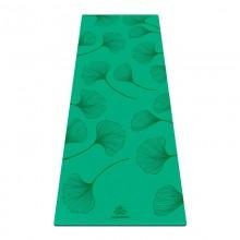 Коврик для йоги ArtYogamatic Leaf Green 185 см x 68 см x 4 мм