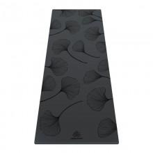 Коврик для йоги ArtYogamatic Leaf Grey 185 см x 68 см x 4 мм