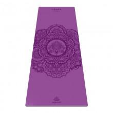 Коврик для йоги ArtYogamatic Mandala Purple 185 см x 68 см x 4 мм