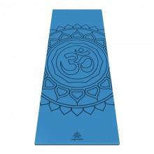 Коврик для йоги ArtYogamatic OM Blue 185 см x 68 см x 4 мм
